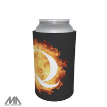 Load image into Gallery viewer, Q Anon WWG1WGA QAnon Stubbie / Can Cooler - Q Flame