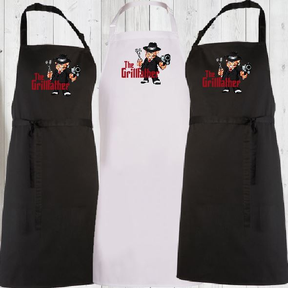 THE GRILLFATHER APRON - aussie-shirt-co