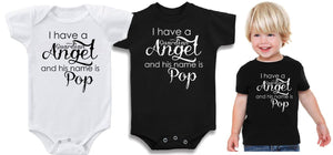 Baby Romper or T-shirt - I have a Guardian Angel ...........- ASC Kids - aussie-shirt-co