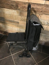 Load image into Gallery viewer, Festival/Shopping Trolley Bag w/Foldable Stool or Table - aussie-shirt-co