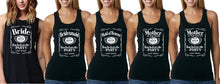 Load image into Gallery viewer, Bucks N Hens - JD Bachelorette Cut Sleeve Tee Singlet or Tank - aussie-shirt-co