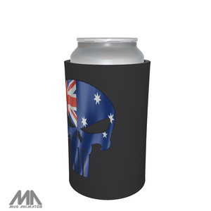 Q Anon WWG1WGA QAnon Stubbie / Can Cooler - Punisher OZ