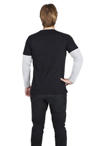 RAMO Double Sleeve Mens Womens - T333DS T-Shirt Printing Australia