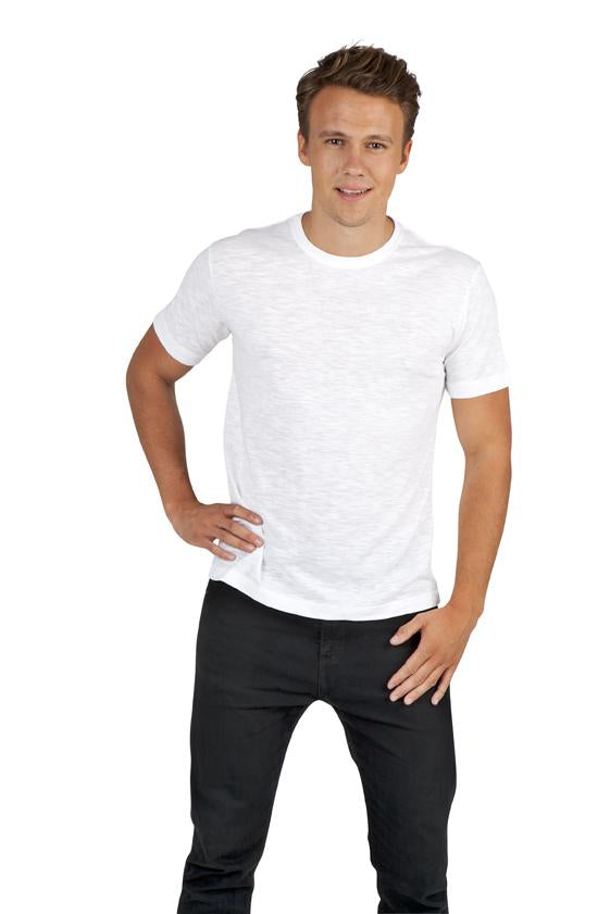RAMO Mens Raw Cotton Wave Tees - T917HB T-Shirt Printing Australia