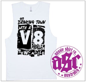 V8 PROBLEM MUSCLE TEE - aussie-shirt-co