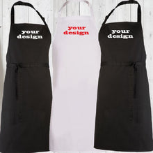 Load image into Gallery viewer, APRON - BBQ Restaurant Cafe - Design Your Own - aussie-shirt-co