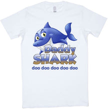 Load image into Gallery viewer, Shark Family Doo Doo Doo Doo Doo - aussie-shirt-co