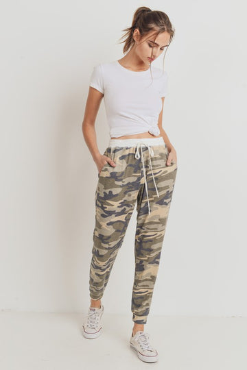 Thermal Camo Joggers