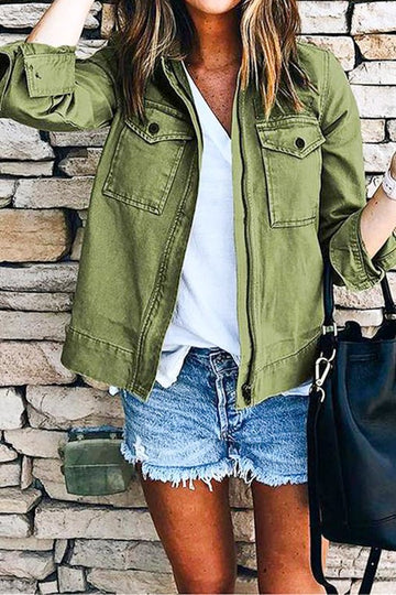 Military Green Jacket