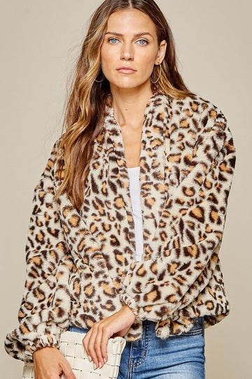 Cool Nights Leopard Jacket