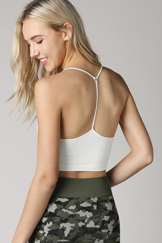 Y-Back Seamless Cami/Bralette
