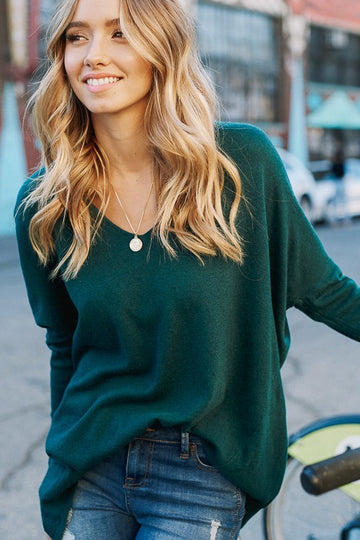Mistletoe  V-Neck Sweater