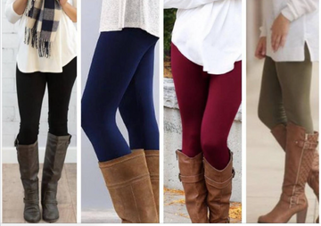 Fleece Lined High Waist Leggings