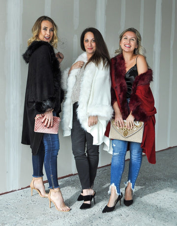 Faux Fur Lined Capes