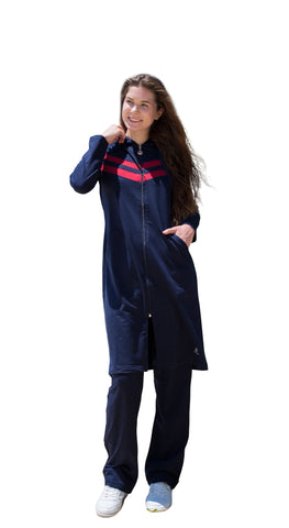 2016 Adabkini Gunes Long Sweatsuit with overall and pants, excellent for muslim women for full-coverage