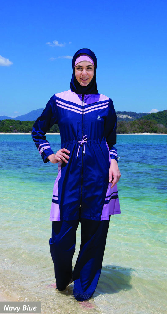 Adabkini Simge Covered Loose Swimsuit, Modest Swimwear, burkini - AdabKini