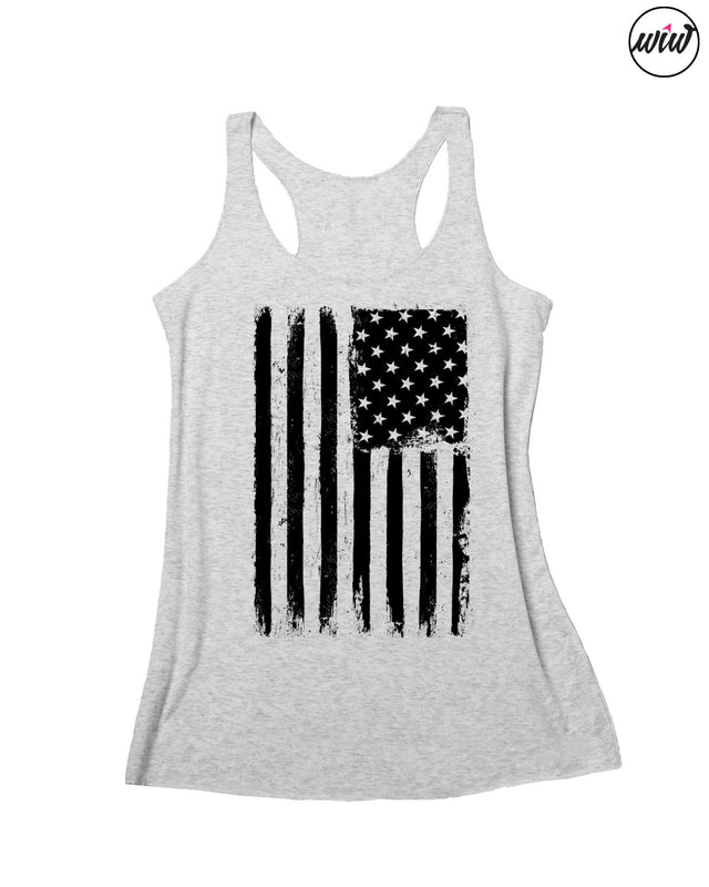 American Flag Tank Top. MERICA Tank Top. Fourth of July. America. Summer Tank. Red White Brew. Patriotic. 4th of July. USA. 1776. American Girl. American Woman.