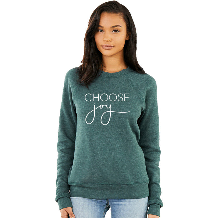 CHOOSE Joy Sweatshirt. Choose Happy. Christian Shirt. Be Kind. Christmas Shirt. Women's Shirts. Fall Shirt. Happiness. Thankful Blessed