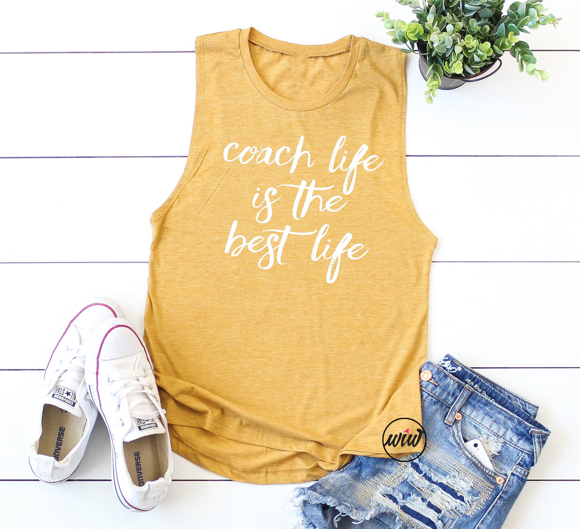 Coach Life Is The Best Life Muscle Tank Top. Coach Shirt. Coach Tank Top. Fitness Coach. Health Coach. Women's Workout. Call me Coach. Summit.