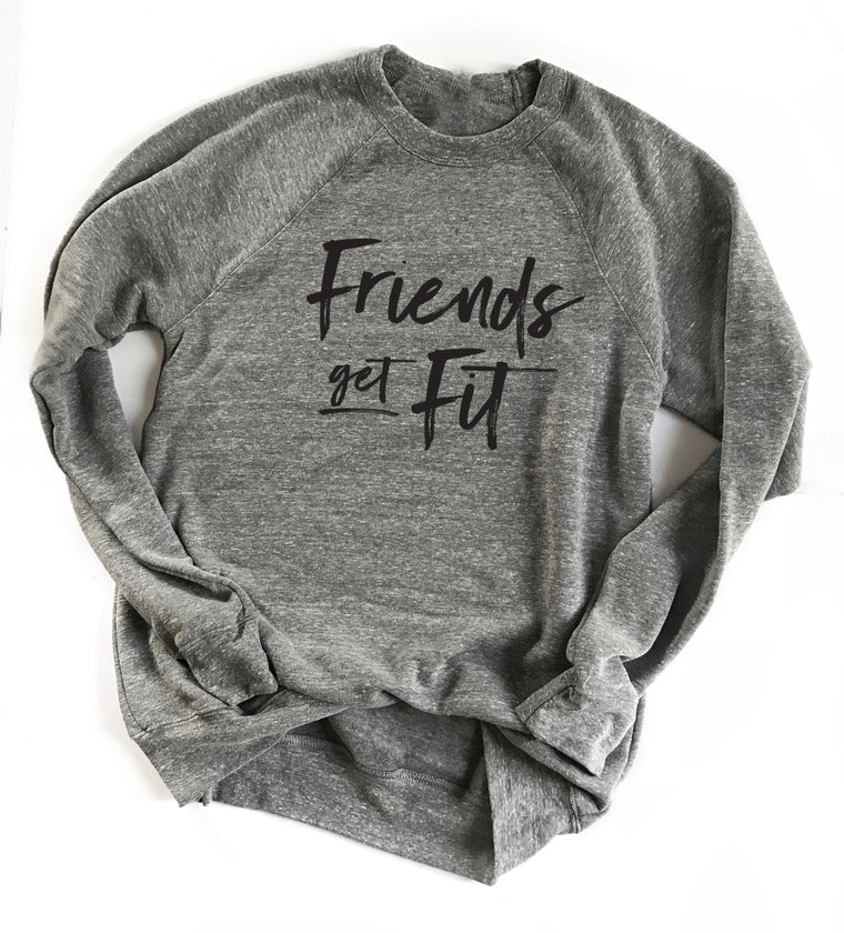 Reserved Listing for Friends Get Fit Unisex Crewneck Sweatshirt
