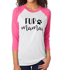 Fur Mama Raglan Baseball Tee. Hang With My Dog. Fur Mama Shirt. Dog Shirt. Dog Rescue. Animal Lover Shirt. Fur Mama. Funny Dog Shirt