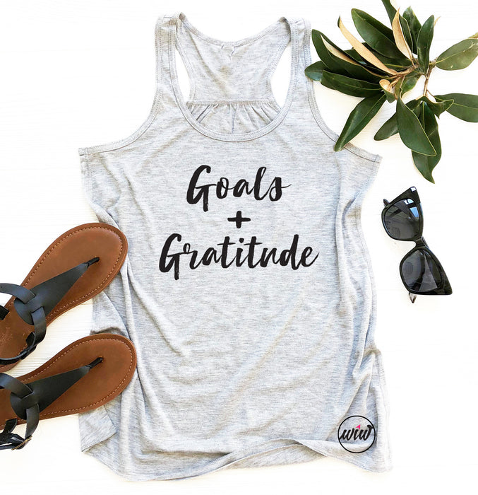 Goals and Gratitude Inspirational Tank. Faith and Fitness. Blessed. Running Tank Top. Workout Tank Top. Bella. Gratitude Tank. Mom Boss.