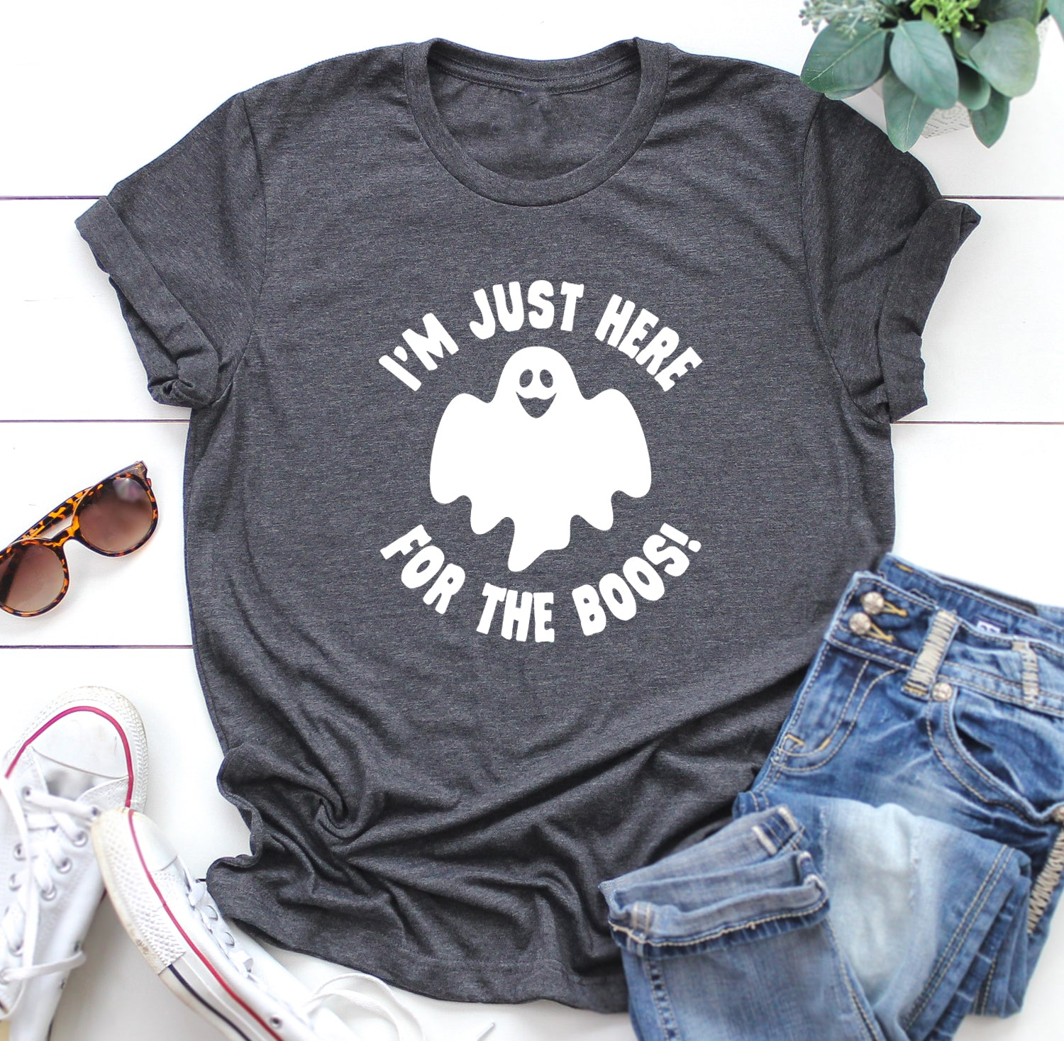 I'm Just Here for the Boos Unisex Shirt. Funny Halloween Shirt. Wine Shirt. Halloween Costume. Dtinking Shirt. Boos Shirt. Best Friends