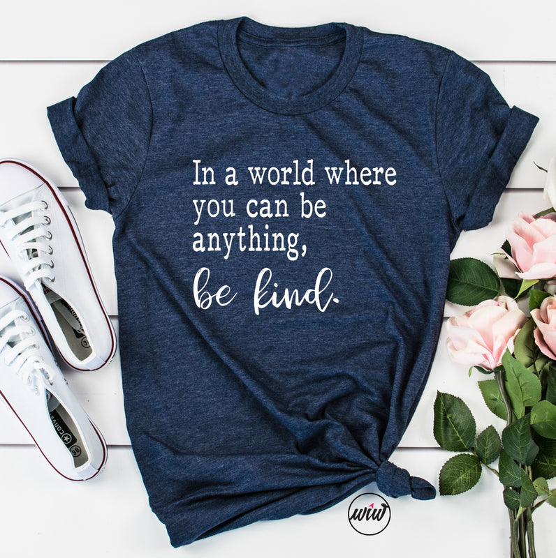 Be Kind Shirt. Inspirational. Kindness is Gangster. Choose Kind. Christian Shirt. Teacher. Nurse.