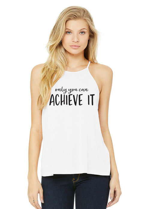 Only You Can Achieve It. Dream Believe Achieve. Hustle. Girl Boss. Yoga. Workout Shirt. Inspiration. Do Shit That Matters. Fitness
