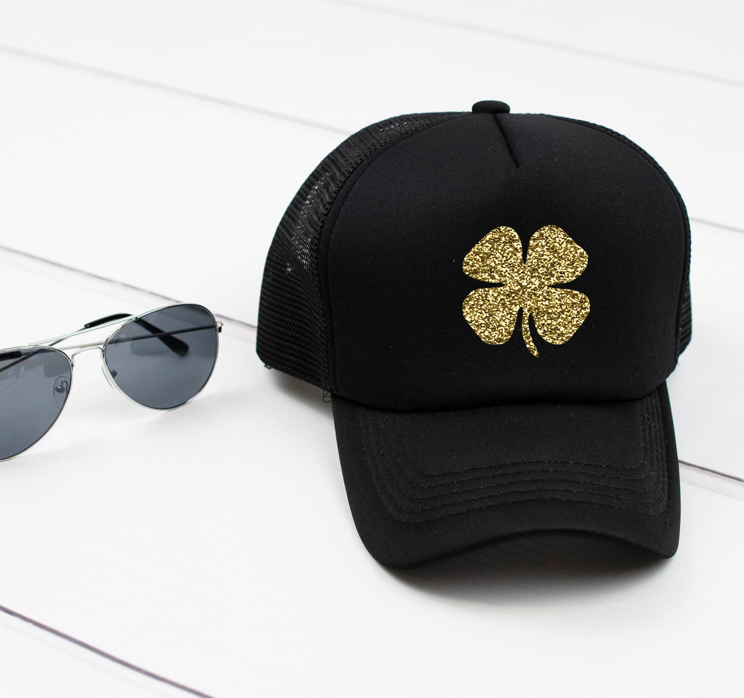 Shamrock St. Patrick's Day Snapback hat. Lucky Squad. Glitter Hat. Day Drinking. Kiss Me. Shake Shamrocks. Pattys Day. Lucky Hat. Girls Trip