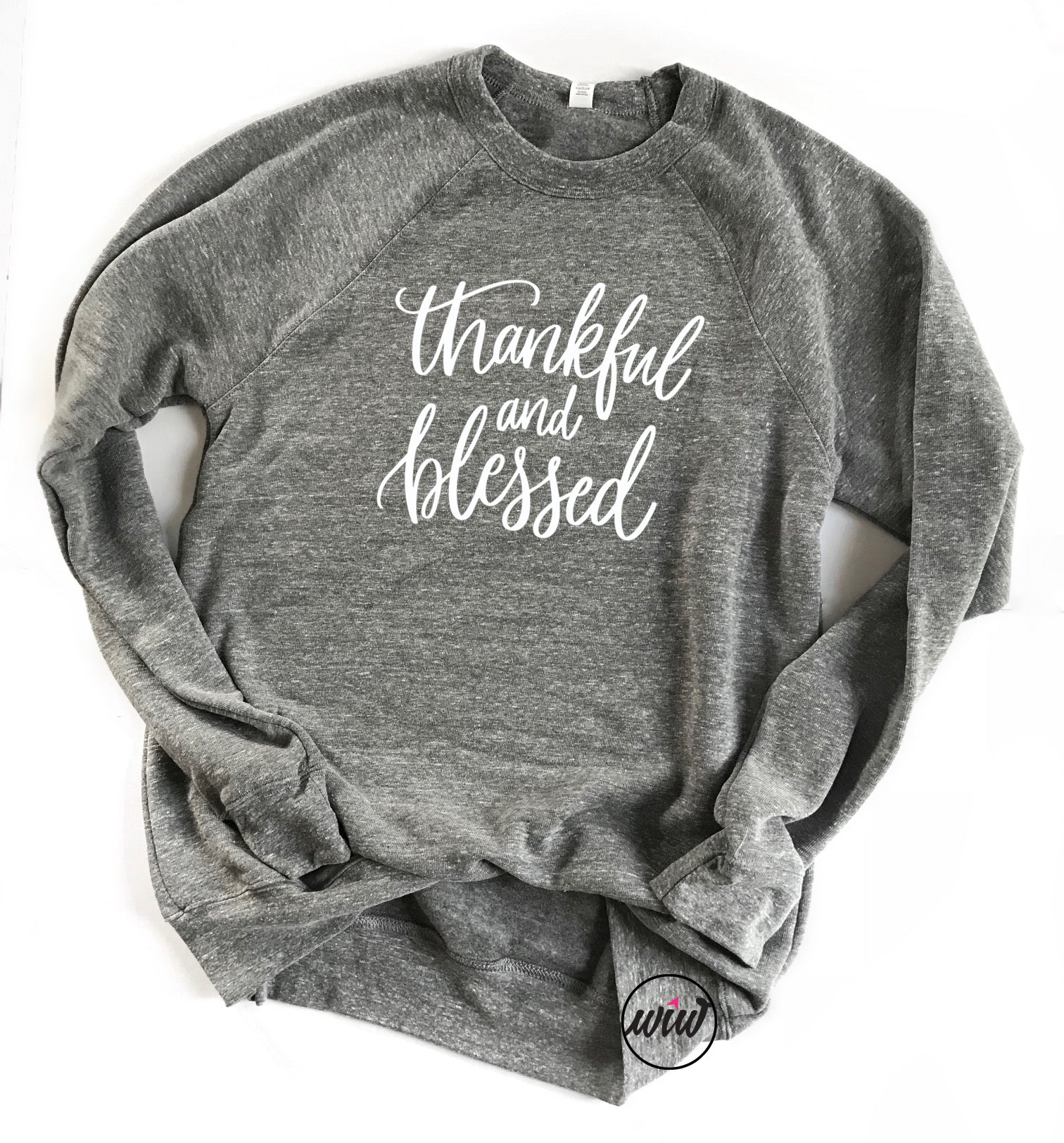 Thankful Blessed Unisex Sweatshirt. Fall Sweater. Cozy AF. Lounge Wear. Winter Shirt. Fall Shirt Thanksgiving Shirt. Christian Faith