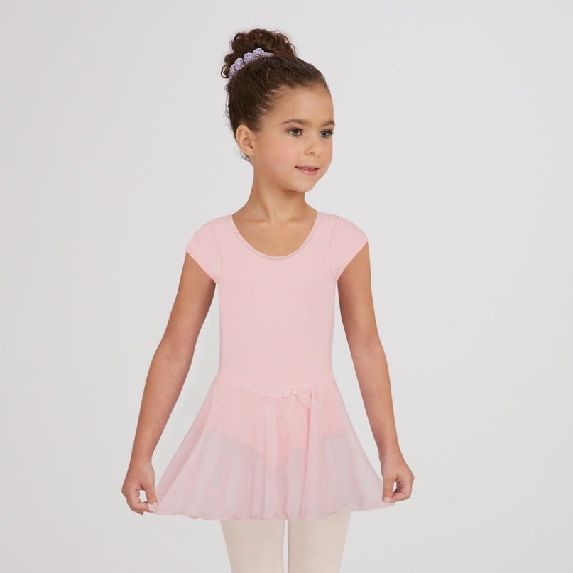 Capezio Short Sleeved Nylon Dress