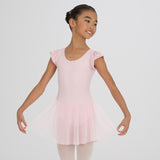 Capezio Flutter Sleeve Leotard with Skirt
