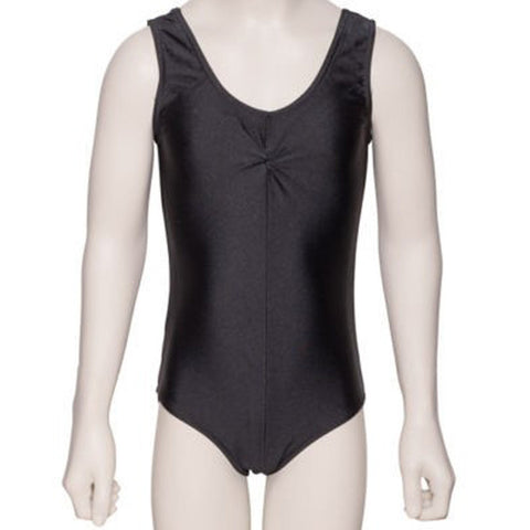 Katz Sleeveless Leotard Rouche