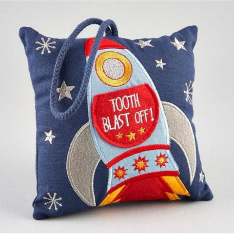 Blast Off Tooth Fairy Pillow