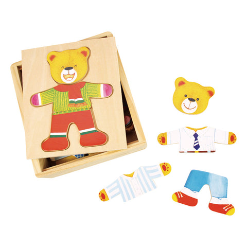 Mr Bear Wooden Toy
