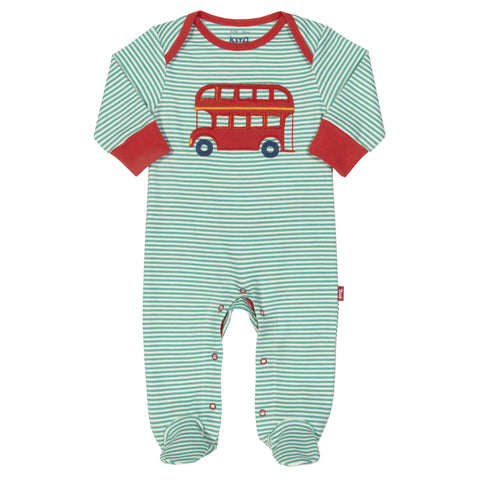 Kite Stripy Bus Sleepsuit