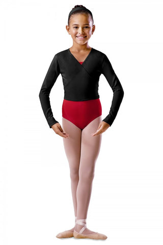 Bloch Long Sleeve Wrap Top