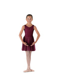 Bloch Tank Leotard - ISTD - Plum & Sky Blue