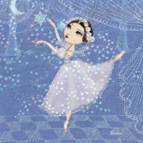 Ballet Papier Greetings Card - Sylphide
