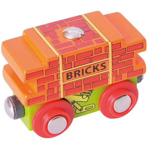 Bigjigs Brick Wagon