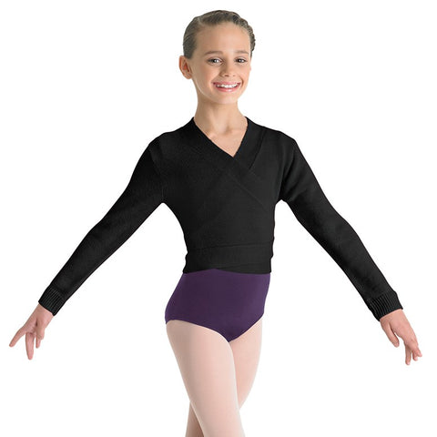 Bloch Child Cross-Over Cardigan