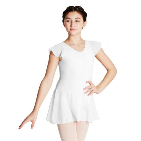 11305C Capezio Flutter Sleeve Dress from Bea Dancewear in Tonbridge