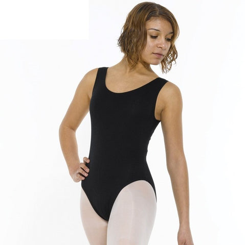 Tappers And Pointers Sleeveless Plain Leotard
