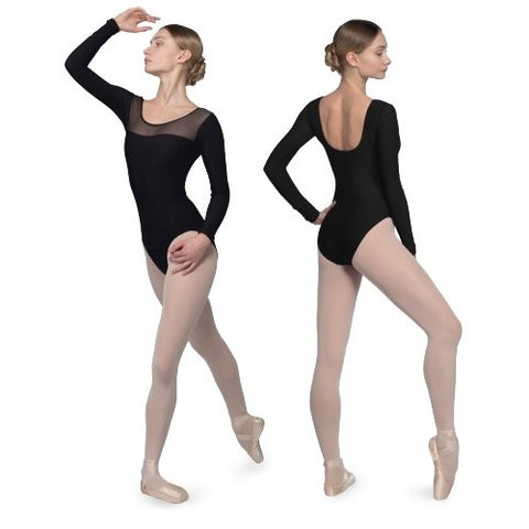 Grishko Basic LS Mesh Leotard