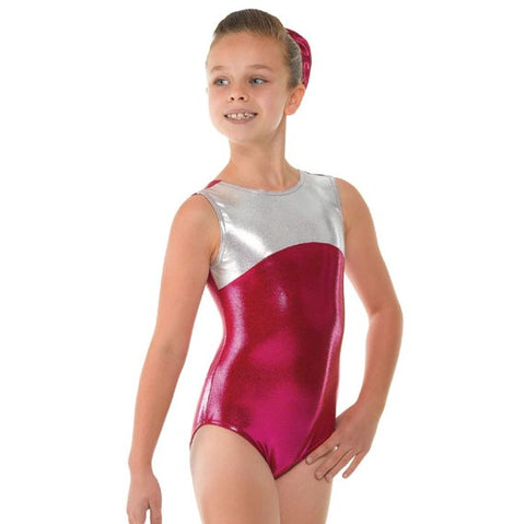 Tappers And Pointers Shine Panel SL Gymnastics Leotard