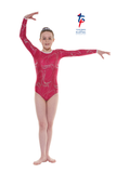 Tappers And Pointers LS Lycra Gymnastic Leotard