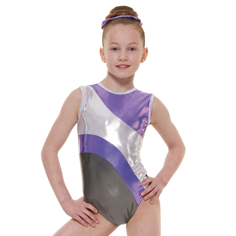 Tappers And Pointers Shine Sleeveless Leotard