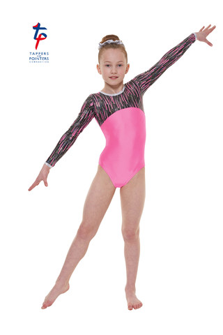 Tappers & Pointers Cascade Gymnastics Leotard