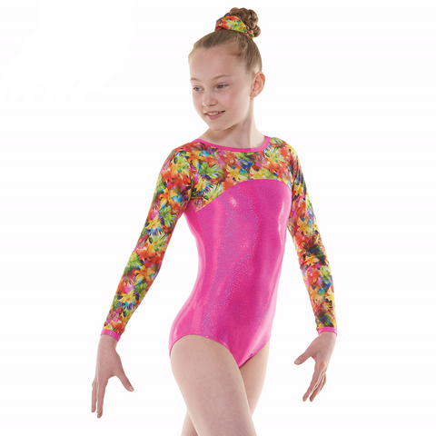 Tappers And Pointers Starburst Gymnastics Leotard